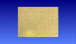 Brick Wall  3D Vector Model -  3D CNC Vector Art