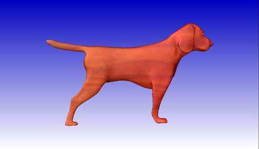Young Beagle stl model -  3D CNC Vector Art