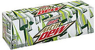 Mountain Dew Soda Caffeine Free, Diet, 12 ea