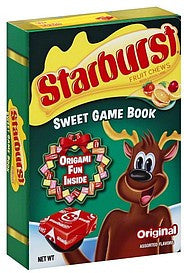 Starburst Sweet Game Book Fruit Chews Original Assorted Flavors 10 Ea