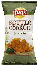 Lays Potato Chips Jalapeno Flavored, 8.5 oz