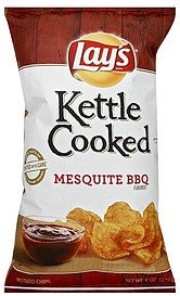Lays Potato Chips Mesquite Bbq Flavored, 8 oz
