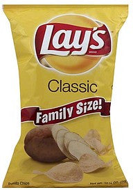 Lays Potato Chips Classic, Family Size!, 10.25 oz
