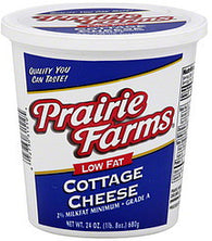 Prairie Farms Cottage Cheese Low Fat, 24 oz