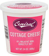 Central Cottage Cheese Small Curd, 24 oz
