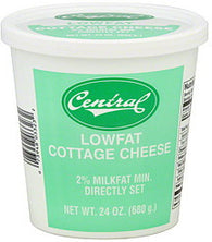 Central Cottage Cheese Lowfat, 24 oz