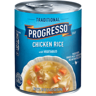 Progresso Traditional Soup, Chicken Rice with Vegetables