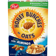 Honey Bunches Cereal, With Crispy Almond