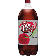 Diet Dr Pepper Cherry, 2 Liter Bottle