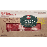 Hormel Natural Choice Bacon, Uncured, Original