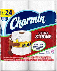 Charmin Toilet Paper Ultra Strong, 6.0 Ct