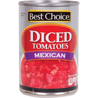 Best Choice Mexican Diced Tomatoes