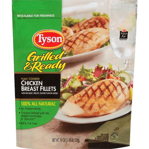 Tyson Grilled and Ready Chicken Breast Fillets