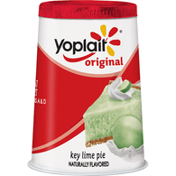 Yoplait Original Low Fat Key Lime Pie Yogurt