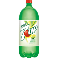 Diet 7-Up Caffeine Free, 2 Liter Bottle