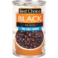 Best Choice Unseasoned Black Beans