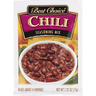 Best Choice Chili Seasoning Mix