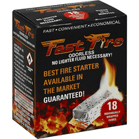 Fast Fire Fire Starter, Individually Wrapped Cubes