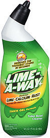 Lime-A-Way Toilet Bowl Cleaner Thick Gel Formula, 24.0 Fl Oz