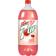 7-Up Diet Cherry Soda, 2 Liter