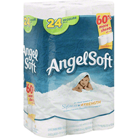 Angel Soft Bathroom Tissue 2-Ply Unscented