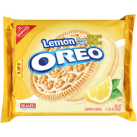 Oreo Sandwich Lemon Cookies