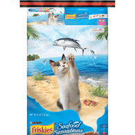 Friskies Cat Food, Seafood Sensations