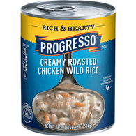 Progresso Rich & Hearty Soup, Creamy Roasted Chicken Wild Rice