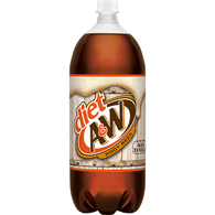 A&W Diet Root Beer, 2 Liter Bottle
