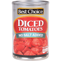 Best Choice Diced Tomatoes No Salt Added