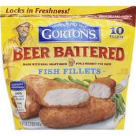 Gortons Fish Fillets, Beer Battered