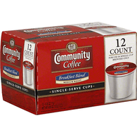 Community Coffee, Medium Roast, Breakfast Blend, K-Cup Pods