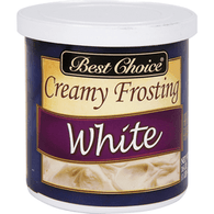 Best Choice Ready To Serve White Frosting