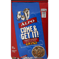 Alpo Come & Get it! Dog Food, Adult, Cookout Classics