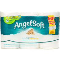 Angel Soft Double Roll Toilet Paper