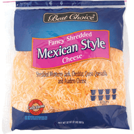 Best Choice Mexican Shredded Cheese