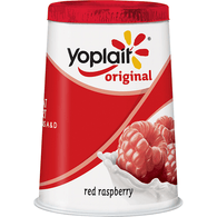 Yoplait Original 99% Fat Free Red Raspberry Yogurt