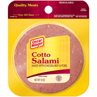 Oscar Mayer Salami, Cotto