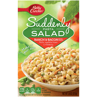 Betty Crocker Suddenly Pasta Salad Ranch & Bacon