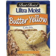 Best Choice Butter Yellow Cake Mix