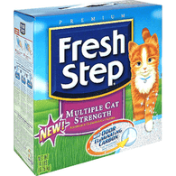 Fresh Step Cat Litter, Clumping, Multi-Cat
