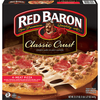 Red Baron Classic Crust 4-Meat Pizza