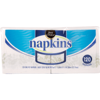 Best Choice Paper Napkins 120 Ct