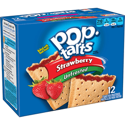 Kellogg's Pop-Tarts Unfrosted Strawberry Flavor