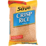 Always Save Crisp Rice - Bag