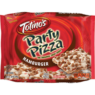 Totino's Hamburger Party Pizza 10.9 oz. Box