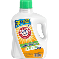 Arm & Hammer Detergent, 2X Concentrated, Free of Perfumes and Dyes