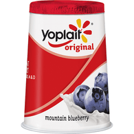 Yoplait Original 99% Fat Free Mountain Blueberry Yogurt