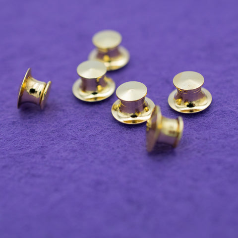 6 Pack of  Luxury Locking Pin Backs