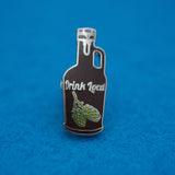 Craft Beer Growler | Drink Local Hard Enamel Lapel Pin